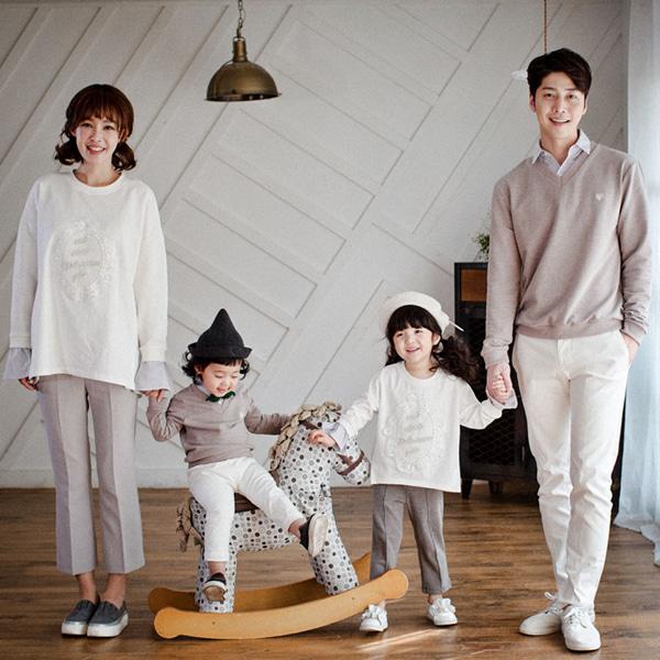 패밀리 로얄댄디 긴팔 17A10/패밀리룩, 돌가족사진의상